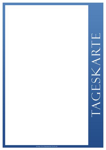 blueline Tageskarte