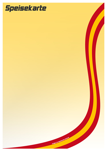 countrycard spain Speisekarte