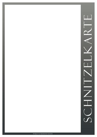 greyline Schnitzelkarte