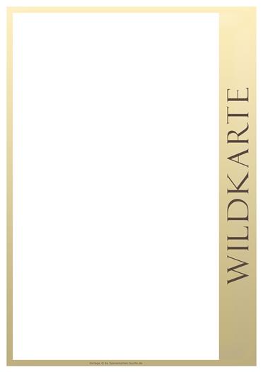 inline Wildkarte