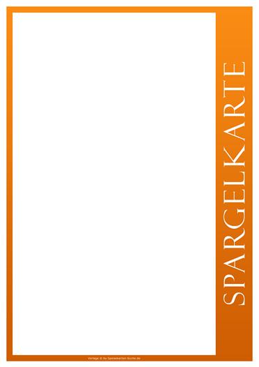 orangeline Spargelkarte