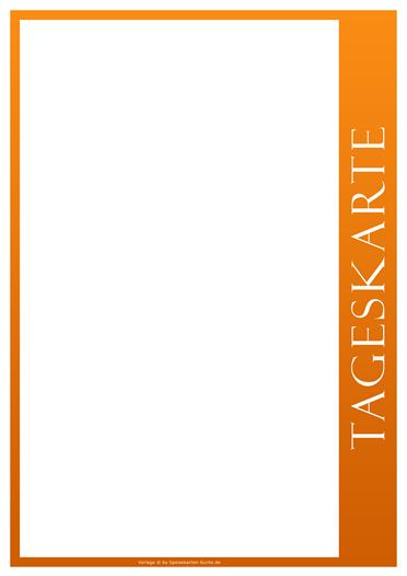 orangeline Tageskarte