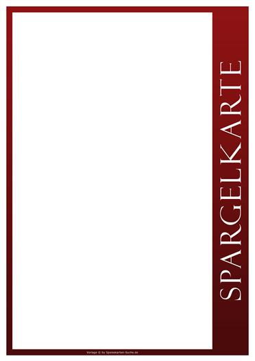 redline Spargelkarte