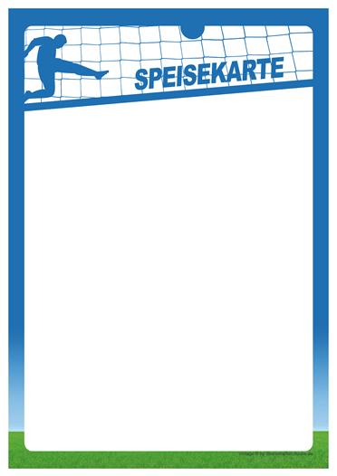 soccer Speisekarte