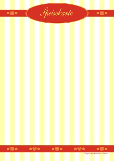 yellowstripe  Speisekarte